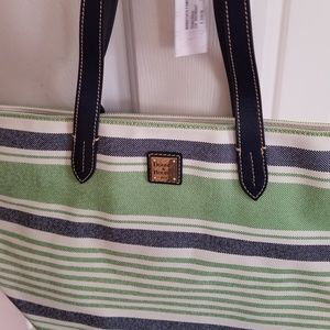 Dooney & Bourke Bags - Dooney & Bourke Stripped Tote Bag - New with Tags